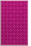 rug #111257 |  pink circles rug