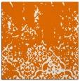 rug #1112578 | square orange traditional rug