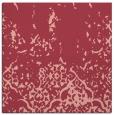 rug #1112598 | square pink damask rug