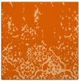 rug #1112642 | square red-orange faded rug