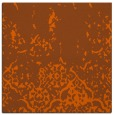 rug #1112646 | square red-orange traditional rug