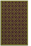 rug #111277 |  purple circles rug