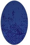 rug #1112842   oval blue-violet traditional rug
