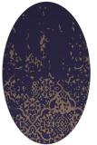 rug #1112846 | oval beige natural rug