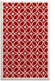 rug #111289    red borders rug