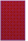 rug #111301 |  red borders rug