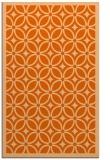 rug #111309 |  red-orange borders rug