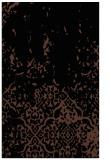 rug #1113122 |  black damask rug