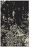 rug #1113130 |  black faded rug