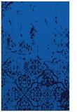 rug #1113138 |  blue damask rug