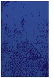 rug #1113210 |  blue-violet damask rug