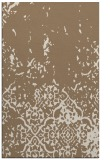 rug #1113262 |  mid-brown damask rug
