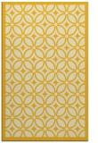 rug #111337 |  yellow rug