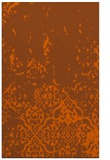 rug #1113382 |  red-orange traditional rug