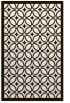 rug #111345    brown circles rug