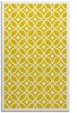 rug #111349 |  yellow borders rug