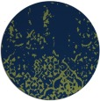 rug #1113518 | round blue faded rug