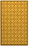 rug #111353 |  light-orange circles rug