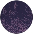 rug #1113574 | round purple traditional rug
