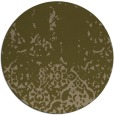 rug #1113590 | round brown faded rug