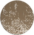 rug #1113630 | round mid-brown traditional rug