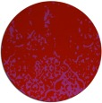 rug #1113738 | round pink traditional rug