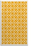 rug #111385 |  light-orange circles rug