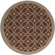 rug #111420 | round borders rug