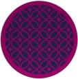rug #111429 | round blue circles rug