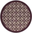 rug #111557 | round pink circles rug