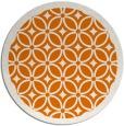 rug #111593 | round orange rug