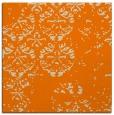 rug #1116050   square orange faded rug