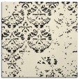 rug #1116074 | square black graphic rug