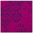 rug #1116086 | square blue faded rug