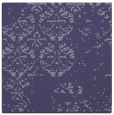 rug #1116142 | square blue-violet damask rug