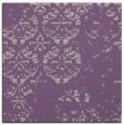 rug #1116234 | square purple faded rug