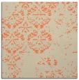 rug #1116262   square orange faded rug