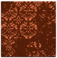 rug #1116266 | square red-orange traditional rug