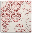 rug #1116310 | square red traditional rug