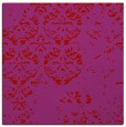 rug #1116314 | square red faded rug