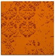 rug #1116318 | square red-orange faded rug