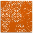 rug #1116330 | square red-orange faded rug