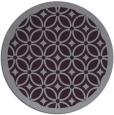 rug #111637   round purple circles rug