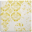 rug #1116374 | square yellow faded rug