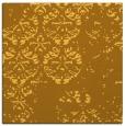 rug #1116378 | square light-orange damask rug