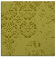 rug #1116386 | square light-green damask rug