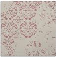 rug #1116406 | square pink damask rug
