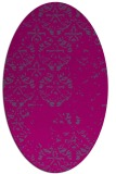 rug #1116456   oval faded rug