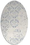 rug #1116468 | oval damask rug