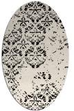 rug #1116483 | oval traditional rug
